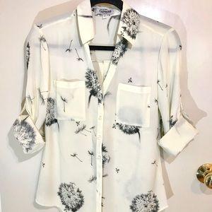 Express Slimfit Portofino Shirt